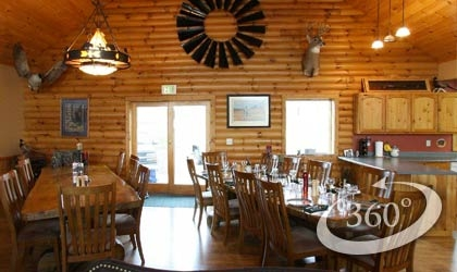 Huge kitchen in Hunting Lodge
