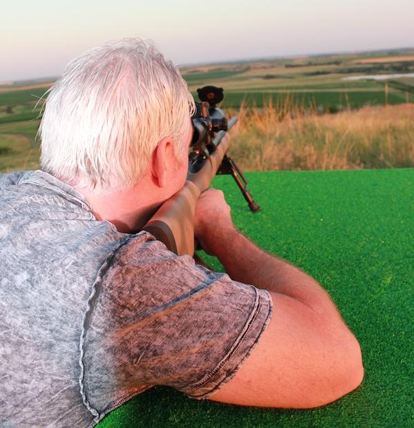 A Buffalo Butte Hunter Warms Up