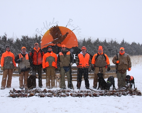 SD Pheasant Hunts in Fall or Winter