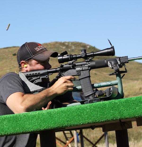 Ryan Nails a Rifle Target