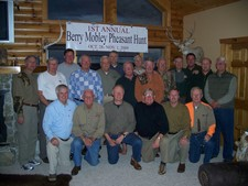 1st Annual Berry Mobley Pheasant Hunt