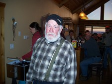 Ray, owner of the Northstar stopping by the lodge to say hi.