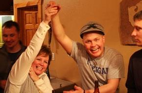 Tye Easton and his Mom